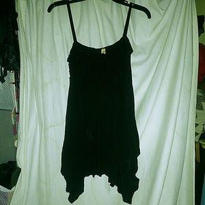 Donating today Bailey44  handkerchief mini dress